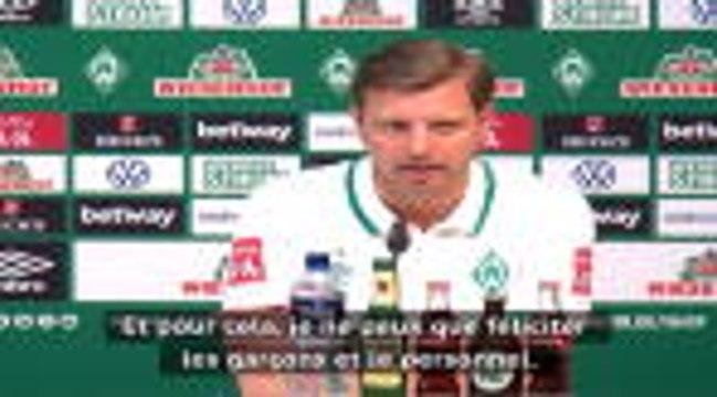 """26e j. - Kohfeldt sur la célébration du Hertha : """"Les règles ont été enfreintes"""""""