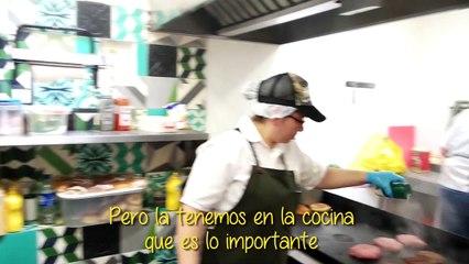 #RicoyCharladito Hache de Hamburguesa Bogotá