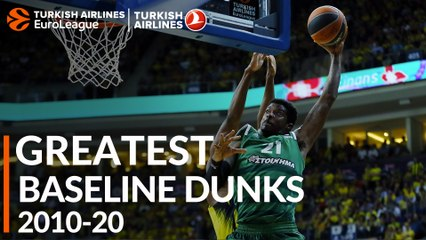 Greatest Plays 2010-20: Baseline Dunks