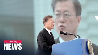 President Moon says May 18 Democratic Movement should be inscribed in constitution