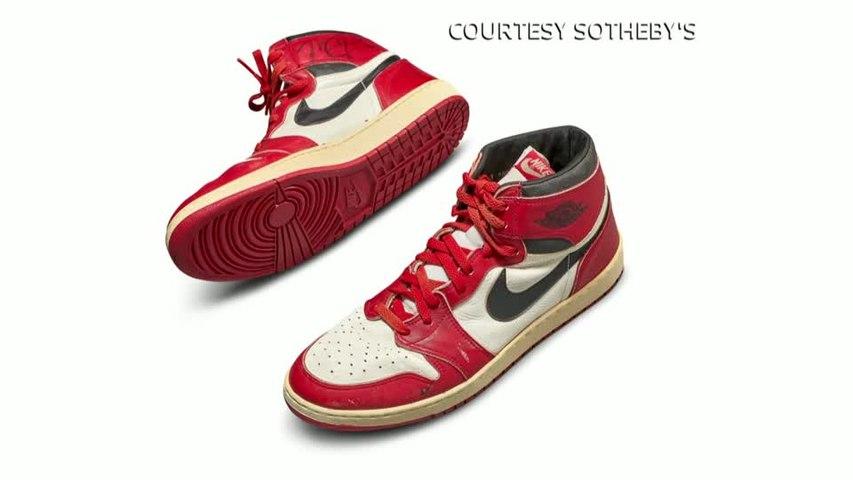 Michael Jordan's first Air Jordans sold for record $560,000
