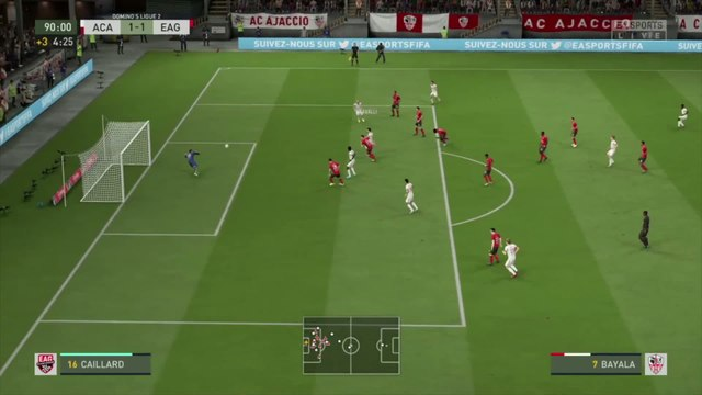 AC Ajaccio - En Avant Guingamp : notre simulation FIFA 20 (L2 - 32e journée)