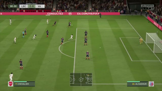 La Berrichonne de Châteauroux - Valenciennes FC : notre simulation FIFA 20 (L2 - 32e journée)