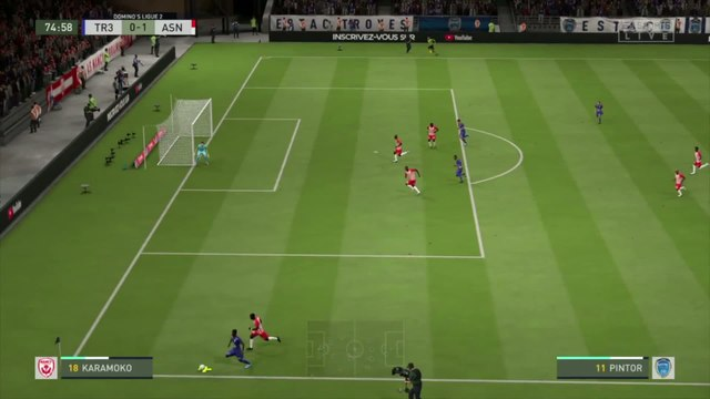 ESTAC Troyes - AS Nancy-Lorraine : notre simulation FIFA 20 (L2 - 32e journée)