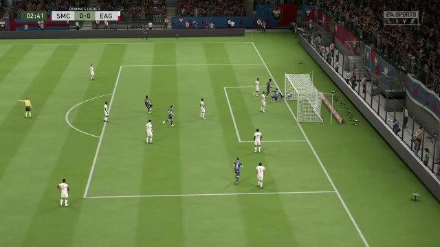 Stade Malherbe de Caen -  En Avant Guingamp : notre simulation FIFA 20 (L2 - 34e journée)