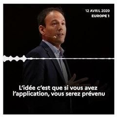 StopCovid - Interview de Cédric O sur Europe 1 - 12 avril 2020