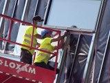 Les chantiers reprennent dans la Loire -  Reportage TL7 - TL7, Télévision loire 7