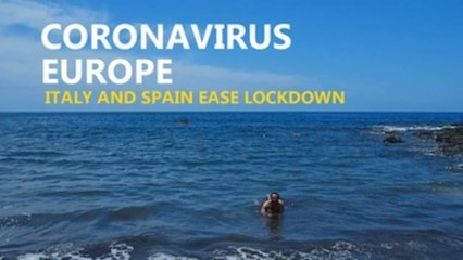 Lockdown eased for 70 pct of Spaniards, bars and beaches open in Italy