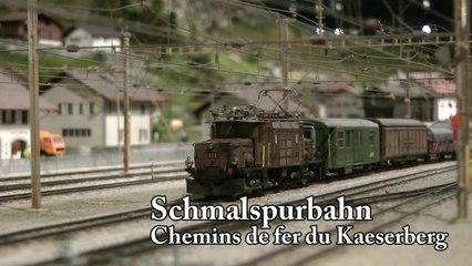 Schmalspurbahn Modelleisenbahn Schweiz - Mit der RhB auf den Kaeserberg in Spur H0 - Modellbahn und Modelleisenbahn von Pennula