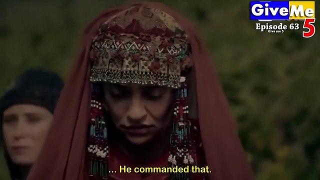 Dirilis Ertugrul Season 1 Episode 63 in Urdu Dubbed
