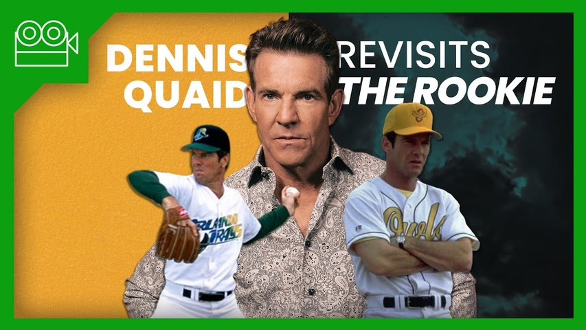 Dennis Quaid Revisits The Pitching Scenes From The Rookie | MLB The Show (The Show)