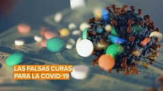 El negocio de medicamentos falsos contra la COVID-19 crece