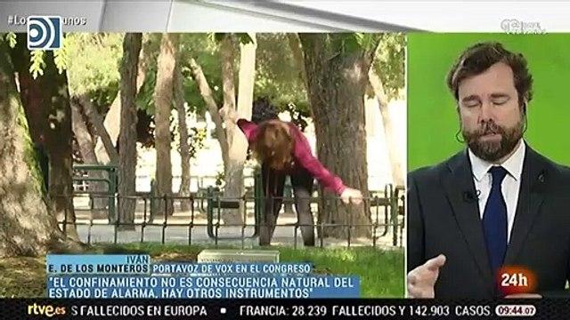 Iván Espinosa de los Monteros pone en su sitio a Xabier Fortes por la supuesta independencia de TVE