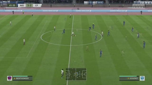 Chamois Niortais - Clermont Foot 63 : notre simulation FIFA 20 (L2 - 34e journée)