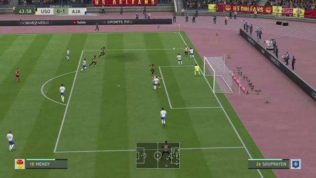 US Orléans - AJ Auxerre : notre simulation FIFA 20 (L2 - 34e journée)