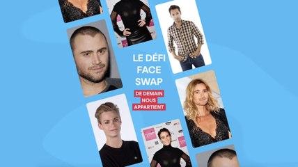 """Le FaceSwap challenge de """"Demain nous appartient"""""""