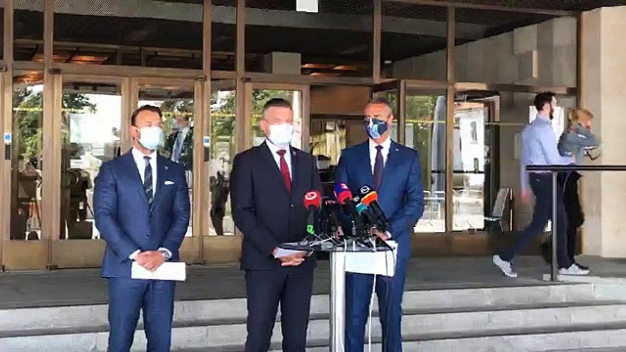 ZÁZNAM: TK podpredsedu NR SR P. Pellegriniho