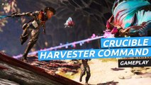 Gameplay  de Crucible en el modo Harvester Command
