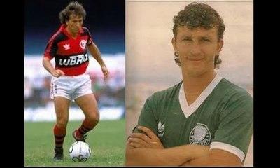Flamengo 2 x 1 Palmeiras - Amistoso 1989