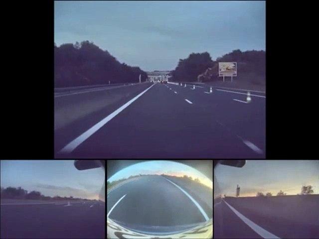 Quand l'autopilote de cette voiture Tesla ne voit pas les cônes sur la route...