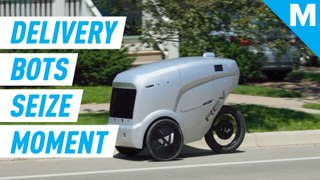 By minimizing close contact, this robot food delivery startup is filling a vital gap amid coronaviru