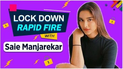 Saiee Manjarekar   Lock Down Rapid Fire With Saiee   Dabang 3, Salman Khan