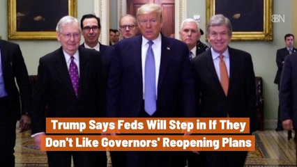 Trump Flexes With The Feds