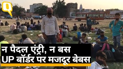 लाख मुसीबतें उठा UP की सीमा तक आए मजदूरों पर क्या बीत रही?गाजियाबाद से ग्राउंड रिपोर्ट  Quint hindi