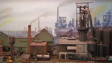 Maquette ferroviaire pour la fabrication de l'acier à l'échelle N - Maquettisme, modélisme et chemin de fer de Pilentum Télévision