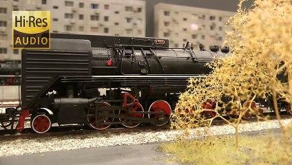 Modélisme ferroviaire en Chine: Locomotives à vapeur et trains diesel à l'échelle H0 - Maquettisme, modélisme et chemin de fer de Pilentum Télévision