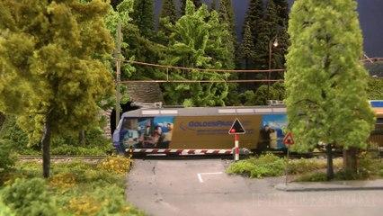Train miniatures en Suisse: Réseau HO de Modelspoor Vereniging Spoorgroep Zwitserland - Maquettisme, modélisme et chemin de fer de Pilentum Télévision