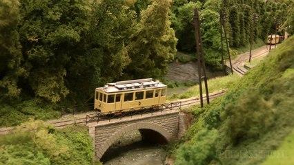 Tram et tramway en Belgique: Maquette ferroviaire «Maredval» de Tom de Decker - Maquettisme, modélisme et chemin de fer de Pilentum Télévision