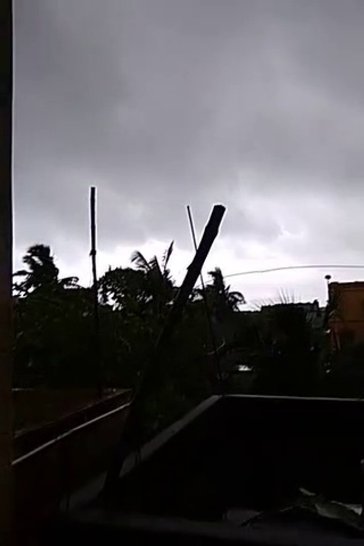 Amphan cyclone in West Bengal