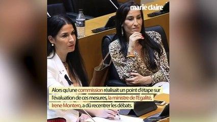 La ministre espagnole Irene Montero recadre ses opposants sexistes