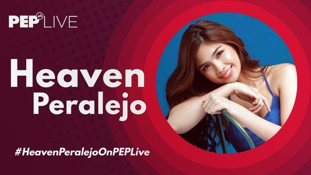 Ang palaban na si Heaven Peralejo sa PEP Live!