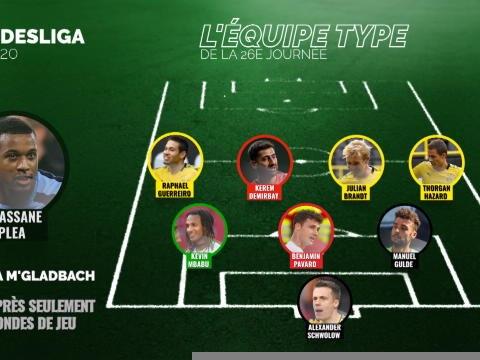 Bundesliga - L'équipe type de la 26e journée