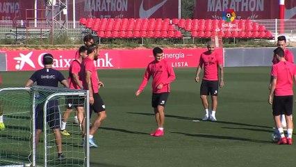El Sevilla sigue en la desescalada camino al derbi