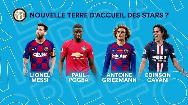 Pogba, Messi, Griezmann liés à l'Inter : est-ce bien sérieux ?
