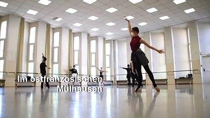 Tanz mit Maske: Ballett in Mülhausen probt wieder