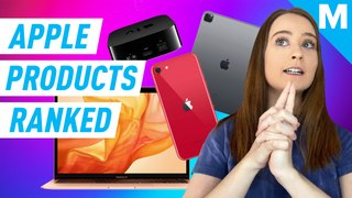 Apple has a lot of new products, so we ranked them