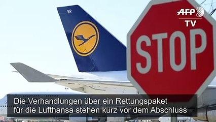 Lufthansa-Rettung kurz vor Abschluss