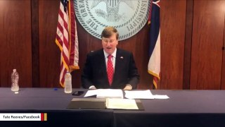 Watch: Mississippi Gov. Tate Reeves Becomes Victim Of Graduation Prank