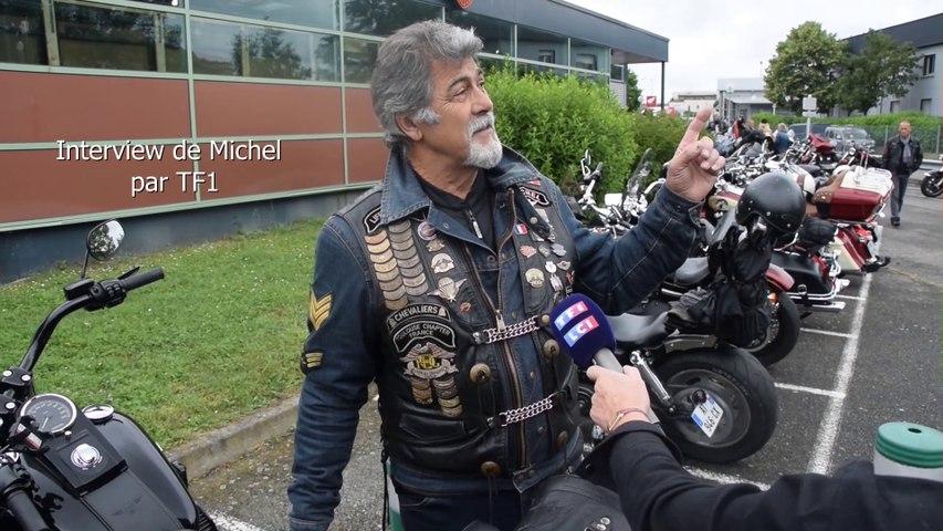 Interview de Michel par TF1