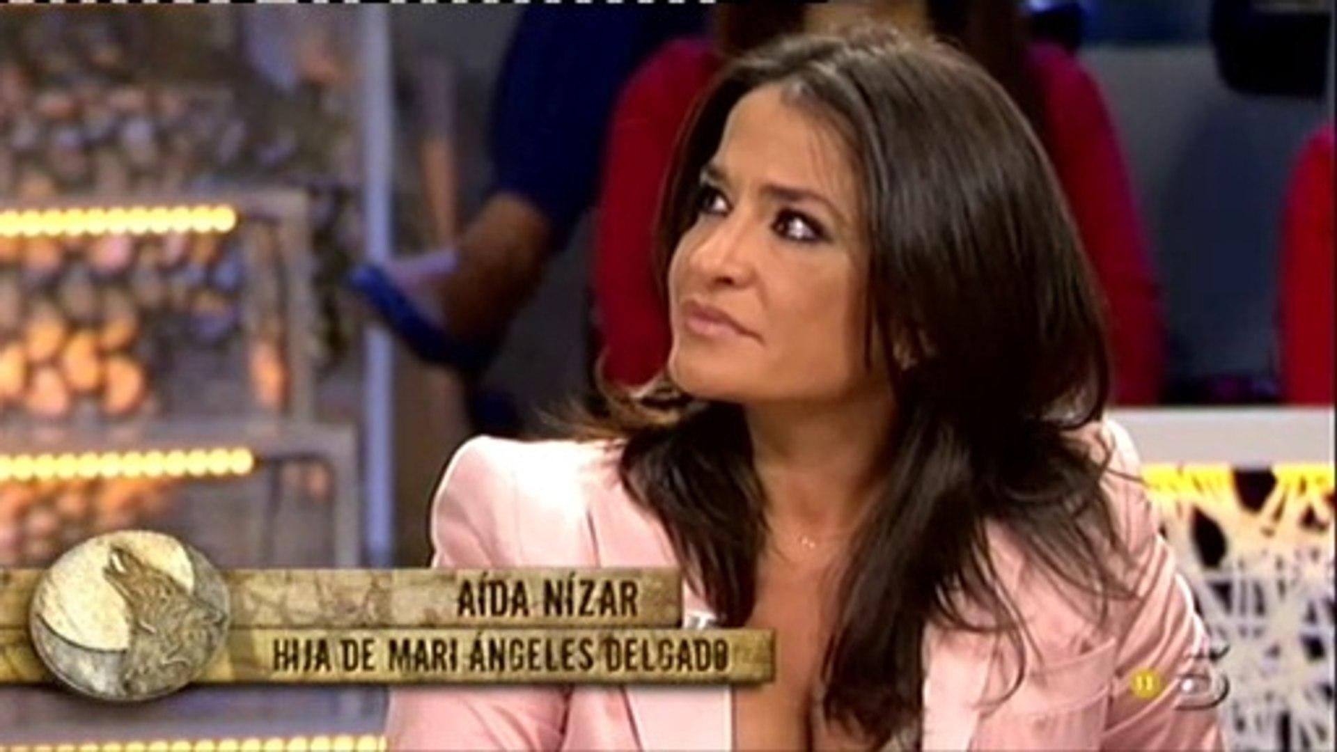 Aida Nizar Desnuda aida nizar emocionada al hablar de su madre