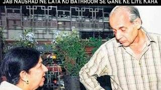 Naushad Ne Lata Mangeshkar Se Mughl –E- Azam Ke Iss Gane Ko Bathroom Se Gane Ke Liye Kaha