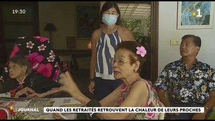 Déconfinement : les séniors retrouvent leurs proches