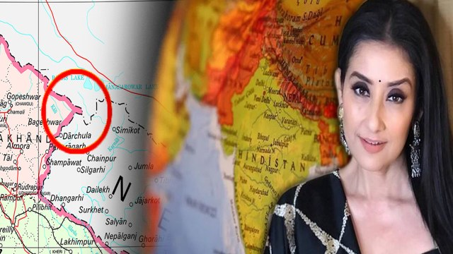 Manisha Koirala இந்தியாவுக்கு எதிராக போட்ட Single ட்விட் | Nepal New Map