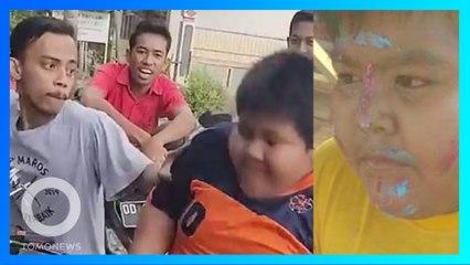 印尼瘋傳12歲男孩遭欺凌影片 民眾傾力相助