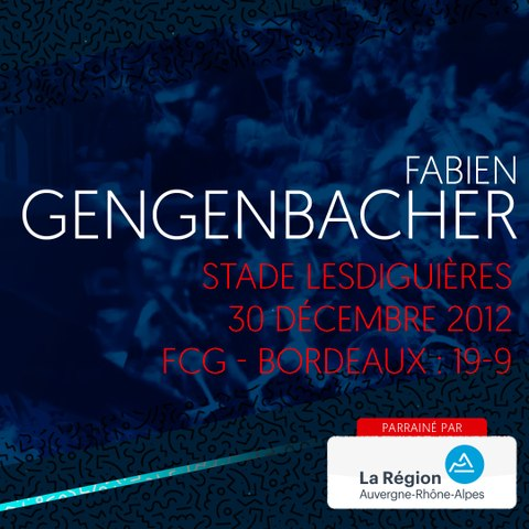 Video : Video - L'essai de Fabien Gengenbacher contre Bordeaux en 2012