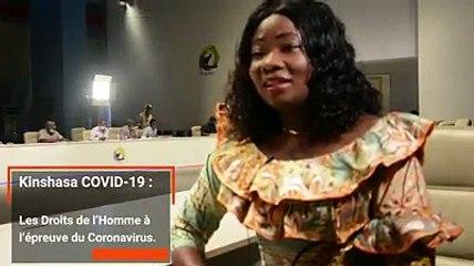 Les droits de l'homme seraient-ils mis à rude épreuve en cette période de #coronavirus à #Kinshasa ? La députée nationale, @ChristelleVuan1, présidente de la commission des Droits de l'Homme à l'Assemblée Nationale répond à quatre questions de Thérèse N.